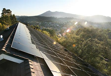 First Solar's Solar City in San Rafael, California, is seen in this undated handout photo. REUTERS/First Solar/Handout