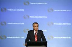 <p>Australia's Treasurer Wayne Swan gives a speech at the Thomson Reuters Newsmaker event in central Sydney August 4, 2009. REUTERS/Daniel Munoz</p>