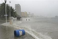 <p>Spiaggia di Acapulco. REUTERS/Jesus Trigo</p>
