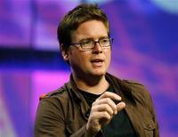 <p>Biz Stone, co-fondatore di Twitter. REUTERS/Fred Prouser (UNITED STATES MEDIA BUSINESS)</p>