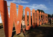 <p>Foto de arquivo do 15o Festival Woodstock em Kostrzyn-upon-Odra River, na fronteira entre Polônia e Alemanha. Quarenta anos depois, o festival original inspira filmes, livros e clipes para a TV. 01/08/2009. REUTERS/Pawel Kopczynski</p>
