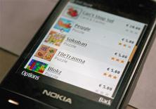 <p>Versão teste de loja online de aplicativos da Nokia. Maior fabricante de celulares do mundo, a Nokia informou nesta terça-feira que mais de 1 milhão de contas de email foram abertas em seu serviço Ovi desde a estréia em dezembro do ano passado.</p>