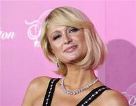 <p>Paris Hilton answers questions at a news conference in Los Angeles, March 13, 2008. REUTERS/Phil McCarten</p>
