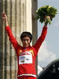 <p>Bai Xue, la prima cinese a vincere l'oro nella maratona femminile ai Mondiali. REUTERS/Fabrizio Bensch</p>