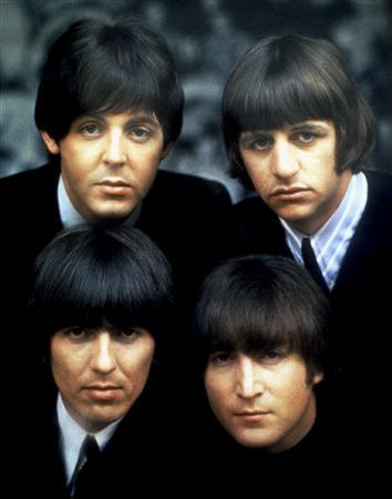 The Beatles in an undated promotional photo. REUTERS/File