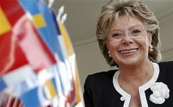 <p>Il commissario Ue per i media Viviane Reding. REUTERS/Vincent Kessler (FRANCE)</p>