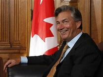 <p>Former Manitoba Premier Gary Doer takes part in a meeting with Canada's Prime Minister Stephen Harper (not pictured) on Parliament Hill in Ottawa August 28, 2009. REUTERS/Chris Wattie</p>