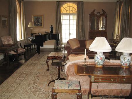 The Living Room Is Pictured During U S Marshals Media Tour Of Imprisoned Fraudster Bernard Madoff Apartment In New York September 8 2009