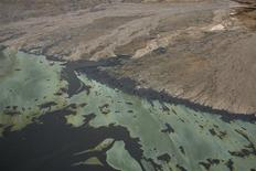 """<p>A scene from """"Petropolis: Aerial Perspectives of the Alberta Tar Sands"""". REUTERS/TIFF/Handout</p>"""