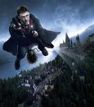 "<p>Actor Daniel Radcliffe as Harry Potter is shown in this undated publicity photo for the Universal Orlando theme park attraction ""Harry Potter and the Forbidden Journey"" in this undated image released to Reuters September 15, 2009. REUTERS/Universal Orlando Resort/Handout</p>"