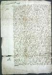 <p>Фотография смертного приговора Марии Стюарт, сделанная в Лондоне 19 февраля 2008 года. Холодной февральской ночью 1587 года Мария Стюарт сидела за своим столом в замке Фотерингей и писала последнее письмо перед казнью. REUTERS/Museums, Libraries and Archives Council/Handout</p>