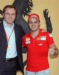 <p>O piloto brasileiro Felipe Massa pode voltar a pilotar uma F1 na semana que vem na Itália REUTERS/Ferrari/Handout</p>