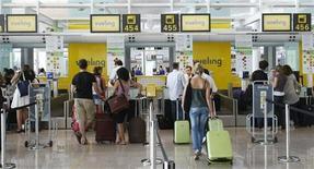 <p>Immagine d'archivio. REUTERS/Albert Gea (SPAIN TRANSPORT TRAVEL)</p>