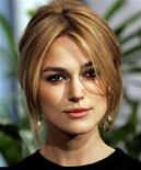 """<p>Keira Knightley, Oscar-nominated actress in a leading role for her role in """"Pride & Prejudice"""", attends the 78th annual Academy Awards nominees luncheon in Beverly Hills February 13, 2006. The Academy Awards will be given out in Hollywood on March 5. REUTERS/Mario Anzuoni</p>"""