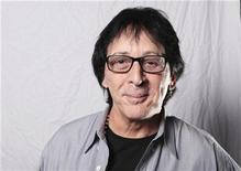 <p>Drummer Peter Criss poses for a portrait while raising awareness of breast cancer in men in New York October 21, 2009. Criss, founding member of rock band KISS, knows that many of his male fans are macho, so he is making the rounds to tell them even tough rocker guys like him can suffer from a disease usually associated with women -- breast cancer. REUTERS/Lucas Jackson</p>