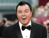 """<p>Nominee Seth MacFarland, the creator of """"Family Guy"""", arrives at the 61st annual Primetime Emmy Awards in Los Angeles, California September 20, 2009. REUTERS/Danny Moloshok</p>"""