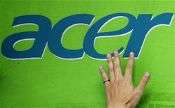 <p>Il logo di Acer. REUTERS/Nicky Loh (TAIWAN)</p>