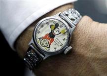 <p>Un orologio della Disney del 1933. REUTERS/Danny Moloshok</p>