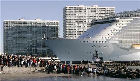 World's biggest cruise ship