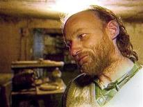 <p>Pickton is shown in this undated file television image in his Port Coquitlam home. REUTERS/Global TV</p>