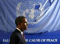 <p>Barack Obama premio Nobel 2009 per la Pace. REUTERS</p>
