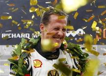 <p>Il pilota automobilsitico Michael Schumacher. REUTERS/Jason Lee (CHINA SPORT MOTOR RACING)</p>