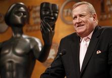 <p>Ken Howard, presidente della Screen Actors Guild, nella conferenza stampa di oggi. REUTERS/Danny Moloshok</p>