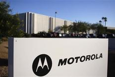 <p>Motorola recebe propostas por unidade de decodificadores de TV.REUTERS/Joshua Lott</p>