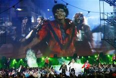 "<p>Dancers perform ""Thriller"" during a tribute to Michael Jackson at the 2009 MTV Video Music Awards in New York, in this September 13, 2009 file photo. REUTERS/Gary Hershorn/Files</p>"