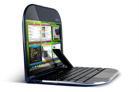A Lenovo Skylight smartbook is seen in a handout photo. REUTERS/Lenovo/Handout