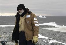 <p>Dr. Chris Henderson poses for pictures at Cape Denison, East Antarctica January 6, 2010. REUTERS/Pauline Askin</p>