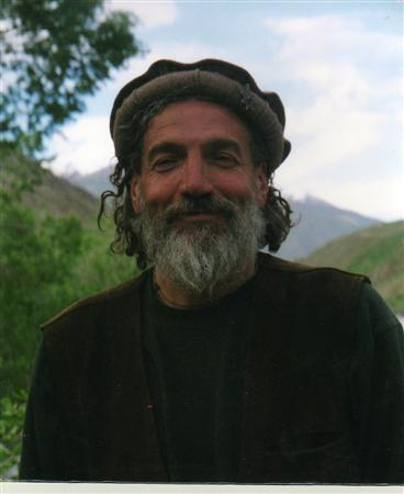 Aldo Magazzeni, who has provided clean water for thousands of improverished Afghanis, is shown in Afghanistan's Panjsher Valley in 2005. REUTERS/Qaiss Narim/Handout