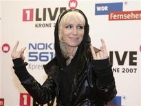 "<p>Певица Сандра Насик на вручении премии ""Eins Live Krone 2007"" в Бохуме 6 декабря 2007 года. Немецкий альтернативный рок-квартет Guano Apes даст концерт в Главclub. REUTERS/Kirsten Neumann</p>"