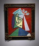 "<p>""Tete de femme,"" by artist Pablo Picasso, which will be sold at auction at an estimated price between $7-10 million on November 3, 2009 by Christie's during the Impressionist & Modern Art evening sale, is seen at a press preview in New York October 29, 2009. REUTERS/Chip East</p>"