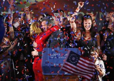 Brown wins seat