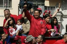 <p>Il presidente venezuelano Hugo Chavez. REUTERS/Edwin Montilva</p>