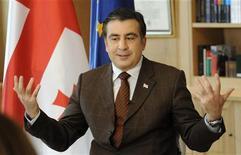 <p>Президент Грузии Михаил Саакашвили дает интервью Рейтер 18 января 2010 года. Некоторые значительные события в мировой истории, произошедшие 25 января. REUTERS/Irakli Gedenidze</p>