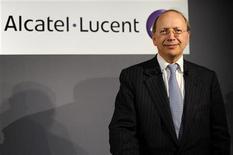 <p>L'amministratore delegato di Alcatel-Lucent Ben Verwaayen. REUTERS/Jacky Naegelen</p>