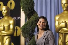 "<p>Sandra Bullock, best actress nominee for ""The Blind Side"" arrives at the nominees luncheon for the 82nd annual Academy Awards in Beverly Hills, California February 15, 2010. REUTERS/Mario Anzuoni</p>"