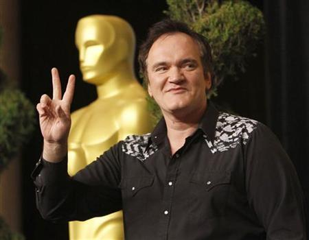 Director Quentin Tarantino, nominee for best director for ''Inglourious Basterds'', arrives at the nominees luncheon for the 82nd annual Academy Awards in Beverly Hills, California February 15, 2010. REUTERS/Mario Anzuoni