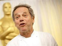 <p>Chef Wolfgang Puck speaks at a preview of food to be served at the Governors Ball, during preparations for the 82nd Academy Awards in Hollywood March 4, 2010. REUTERS/Danny Moloshok</p>