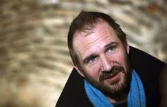 "<p>Actor Ralph Fiennes smiles during an interview with Reuters in Belgrade March 10, 2010. After two years struggling to win funding amid the global financial crisis, Fiennes said on Wednesday he would start filming his directorial debut of a Shakespeare tragedy ""Coriolanus"" next week in Serbia. FILM-FIENNES/CORIOLANUS REUTERS/Marko Djurica</p>"