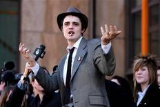 <p>Pete Doherty in foto d'archivio. REUTERS/Kieran Doherty</p>