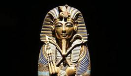 <p>The coffinette for the Viscera of Tutankhamun in a file photo. REUTERS/Fred Prouser</p>
