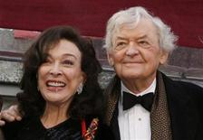 """<p>Best supporting actor Oscar nominee Hal Holbrook from the film """"Into The Wild,"""" arrives with his wife, Dixie Carter, at the 80th annual Academy Awards in Hollywood, February 24, 2008. REUTERS/Lucas Jackson</p>"""