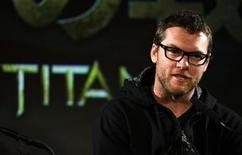"""<p>Cast member Sam Worthington attends a news conference of """"Clash of the Titans"""" in Tokyo April 7, 2010. REUTERS/Yuriko Nakao</p>"""