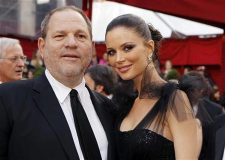 Film producer and Miramax Films co-founder Harvey Weinstein arrives with his with wife, Georgina Chapman, at the 82nd Academy Awards in Hollywood, March 7, 2010. REUTERS/Brian Snyder
