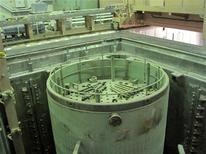 <p>Вид АЭС в Бушере изнутри, 30 ноября 2009 года. США добились значительного прогресса в переговорах о новых санкциях в отношении Ирана из-за его ядерной программы, сообщил заместитель госсекретаря США Уильям Бернс. REUTERS/Vladimir Soldatkin</p>