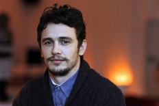 """<p>Cast member James Franco from the movie """"Howl"""" poses for a portrait during the 2010 Sundance Film Festival in Park City, Utah January 22, 2010. REUTERS/Mario Anzuoni</p>"""