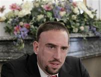 <p>Ribery oggi prima dell'udienza al Tas di Losanna. REUTERS/Denis Balibouse (SWITZERLAND - Tags: SPORT SOCCER)</p>